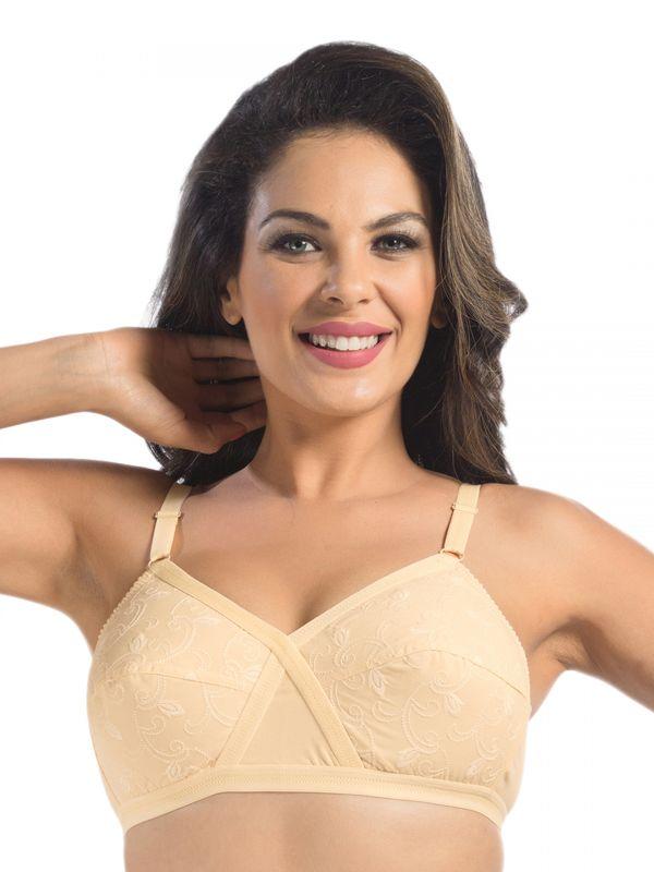 Sonari Unique women's Non Padded regular Bra Pack of 2